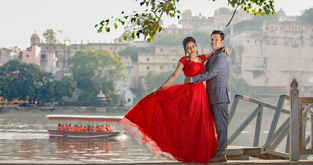 top places for pre-wedding shoot in udaipur