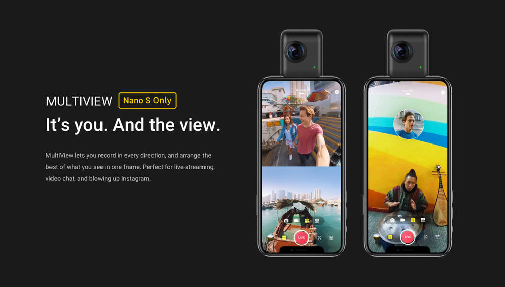 Buy now insta360 GO camera